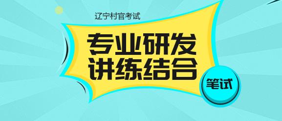 2017辽宁村官笔试辅导课程