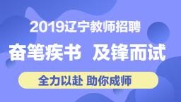 2019辽宁教招